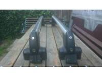 Vw passat (b5)genuine roof racks