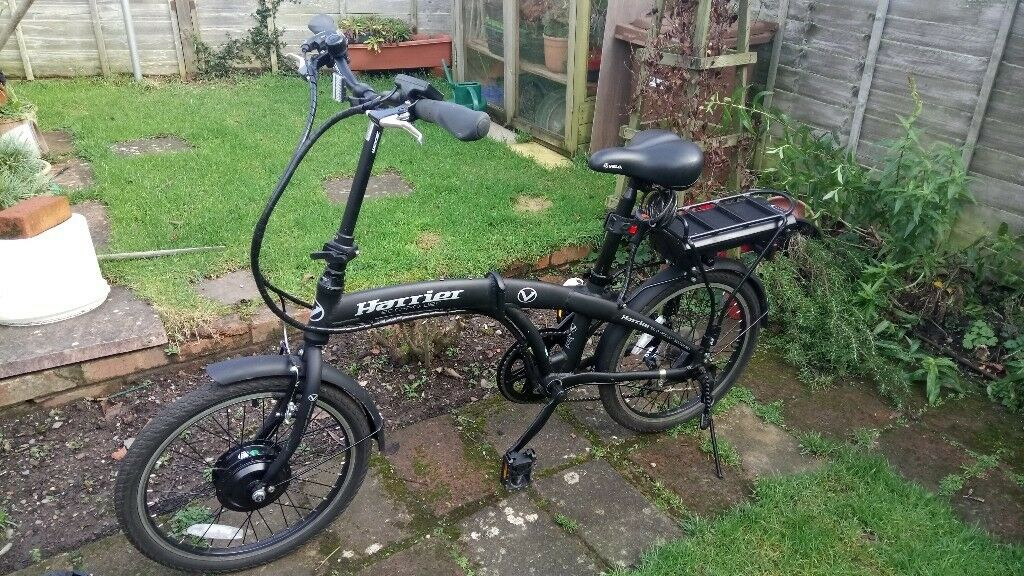 Harrier Eco-power Folding Electric Bicycle