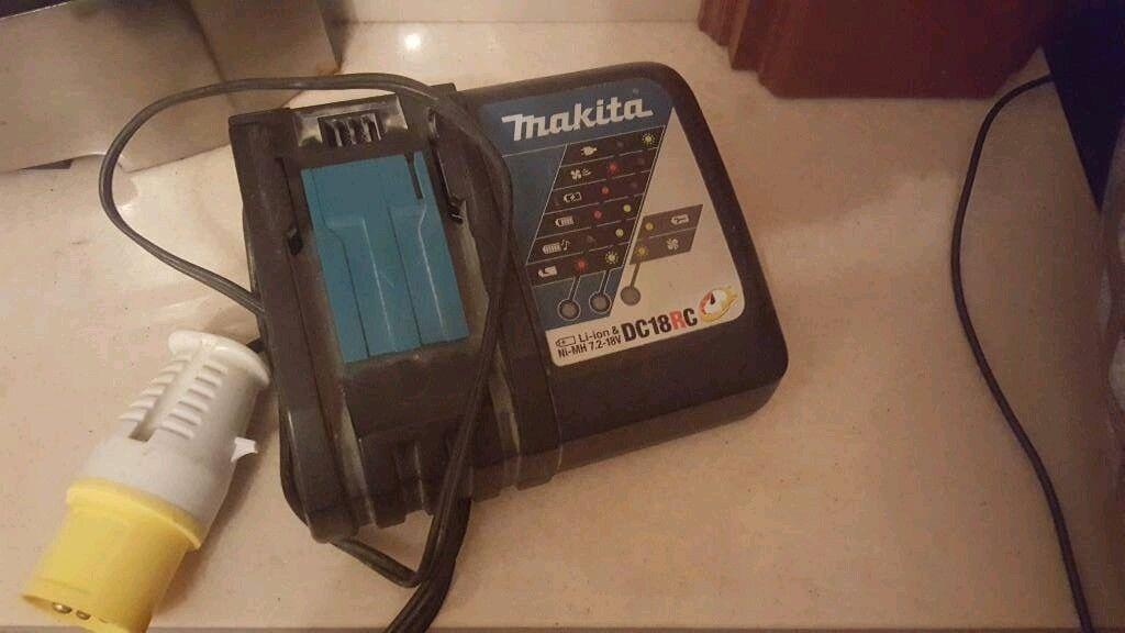 Makita 110v charger