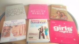 6 Ladies Book Bundle - Fashion, Beauty, Clothes, Nails