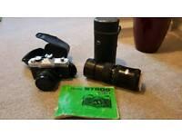 Fujica camera and lens