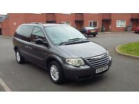 2005 05 REG FACELIFT CHRYSLER VOYAGER 2.4 LX MANUAL HEATED LEATHER SEATS 7 SEATER MOT TAX HPI CLEAR