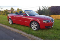 Convertible Audi A4, 1.8t, only 73000 miles
