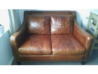 Full Leather Sofa 2 seater