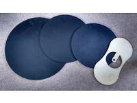 Drum Head Practice/Sliencing Pads