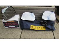 Milenco Grand Aero Towing Mirrors