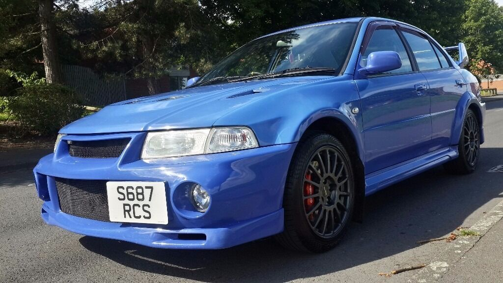 bargain mitsubishi evo 6 rare reims blue stock car *** | in Hodge Hill, West Midlands | Gumtree