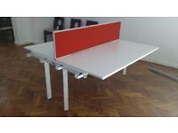 5 Herman Miller 8 pod/bench office desks £90 each desk