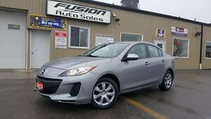 2013 Mazda MAZDA3 GX-OFF LEASE 1 OWNER-FACTORY WARRANTY-SUPER CL