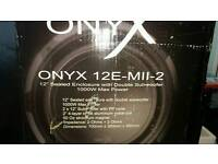 Onyx 1000w double car subwoofer
