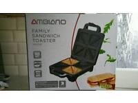 Ambiano Family Sandwich Toaster