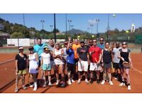 Tennis holiday companions wanted