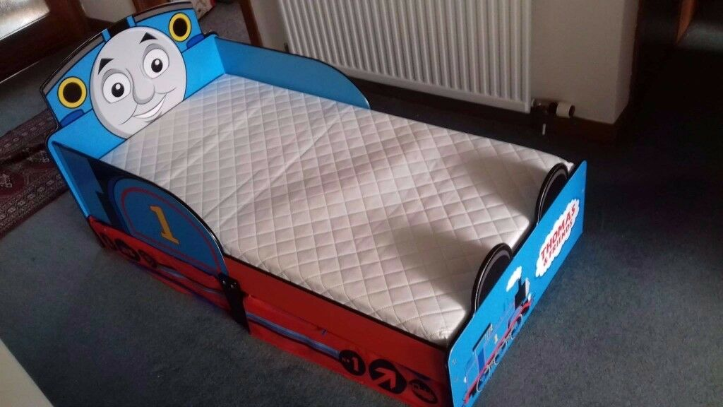 Thomas the Tank Engine Bed with storage