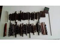 Large job lot of various drill bits