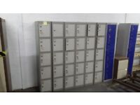 Metal Lockers - Warehouse Clearance