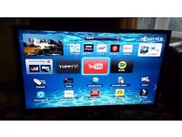 "SAMSUNG 51"" PLASMA TV FREEVIEW HD/SMART/3D/WIFI READY/MEDIA PLAYER/600HZ EXCELLENT COND. NO OFFERS"