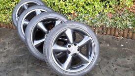 Mercedes C Class alloys & winter tyres
