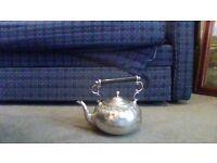 Silver antique keetle