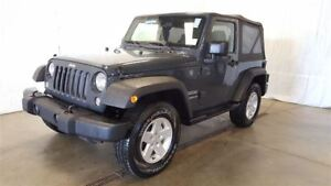 2017 Jeep Wrangler Sport S +Hitch, Marche-Pied+