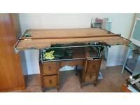 Old style artist desk