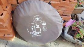 secono quechua 1 second simple pop up tent