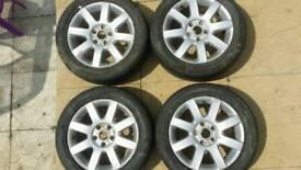 Golf 5 aloy wheels