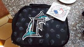 Florida marlins lunch bag