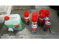 Wurth aerosols and engine we greaser