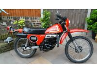last of the twin shock enduro's,super condition classic legend ts 185 er
