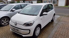 VW Up! Move 1.0L, White, 2014, 5 Door, Low Mileage, Reversing Sensors