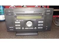 Ford transit mk7 2008 onwards radio/cd player WITH CODE