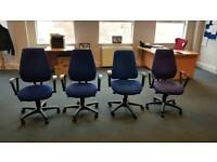 Office chairs x 5