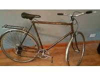 Raleigh Vintage Racer 1978 immaculate condition -old style racer bars
