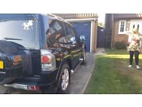 SWB MITSUBISHI SHOGUN WARRIOR. LEATHER INTERIOR BLACK AND CHROME OUTSIDE. HIGH SPECK AND POWERFUL.