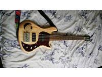 2013 Gibson EB5 5 string bass