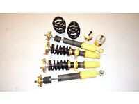 BMW E46 320D Full Suspension kit, only used for a couple months