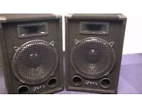 PA RCL 12 INCH SPEAKERS