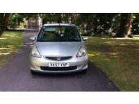 2007 (57) honda jazz 1.4 se 5 door low miles fsh £2695 *focus 307 c4 megane golf astra civic size *
