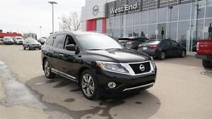 2016 Nissan Pathfinder Platinum Edition, Leather, Nav, Heated se