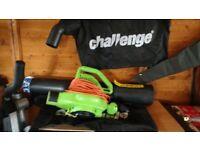 Challenge leaf blower/ collector