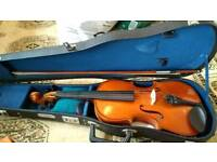 Skylark violin and bow in case