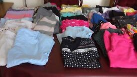 70 items of girls clothes. Age 7 & 8. From brand named shops - Next, M&S, Debenhams, H&M