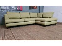 DESIGNER CORNER SOFA VERY NICE & VERY COMFY ALL ZIP COVERS CAN DELIVER