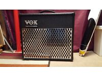 Vox Valvetronic AD30VT modelling guitar amplifier, unmarked with very little domestic use.