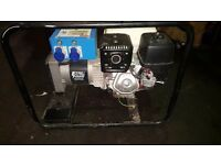Honda generator dual socket