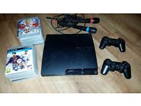 PS3 console + selection of games