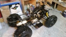 Kazuma 150cc quad project
