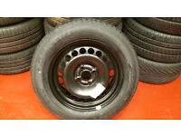 Vauxhall SPACE SAVER SPARE WHEEL 15 1 x tyres 185 65 15
