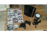 Ps3 console + games
