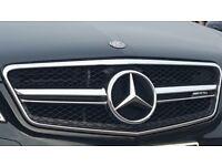 MERCEDES W212 E-CLASS E63 STYLE FRONT SPORTS GRILLE 2010-2013 AMG E350 E500 E550 London
